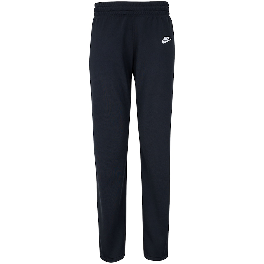 Agasalho Nike Sport Wear Track Suit Preto e Branco Feminino