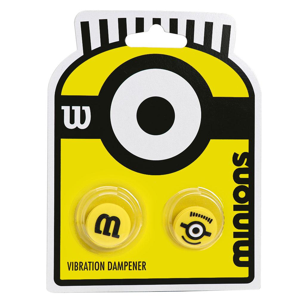 Antivibrador Wilson Minions Amarelo e Preto