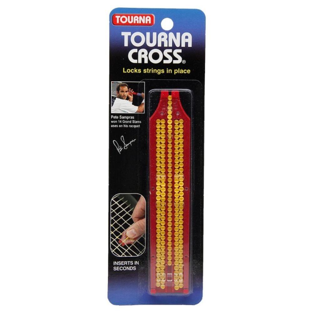 Bate Forte Tourna Cross Protetor de Corda