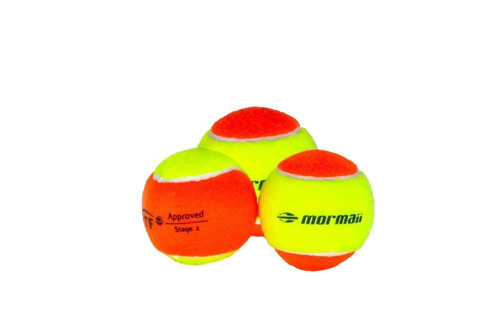 Bola de Beach Tennis Mormaii Premium Pack Com 03 Unidades