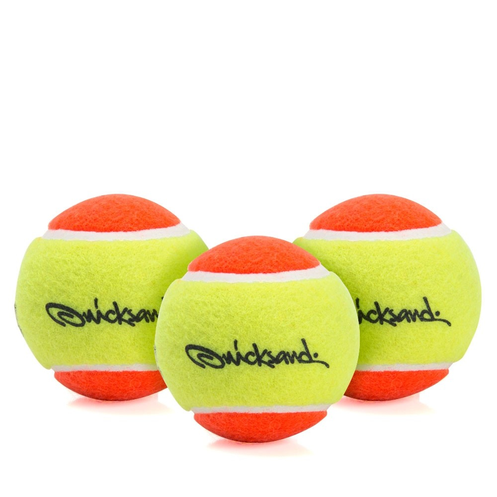 Bola De Beach Tennis Quicksand Pack Com 03 Bolas