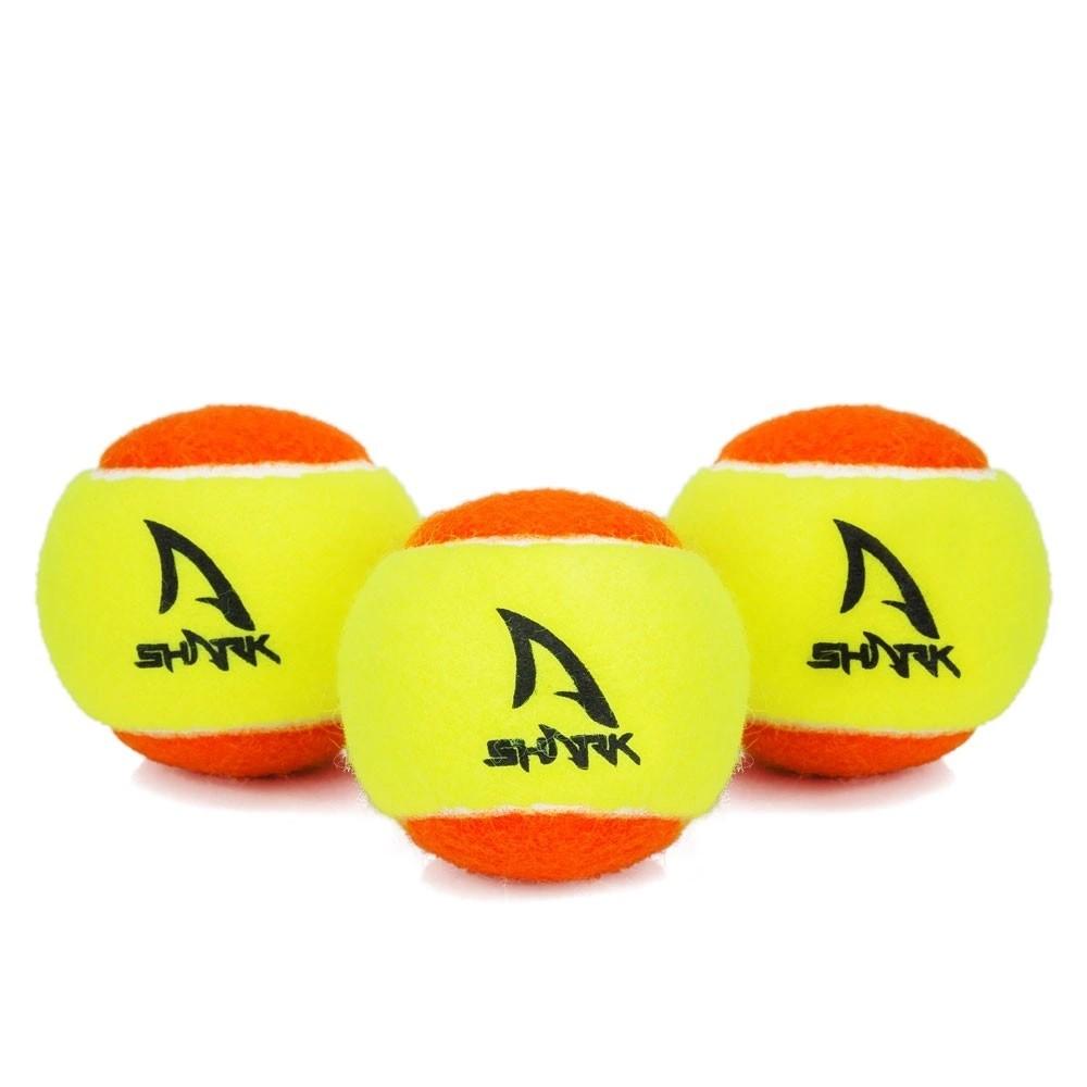 Bola De Beach Tennis Shark Saco Com 60 Bolas