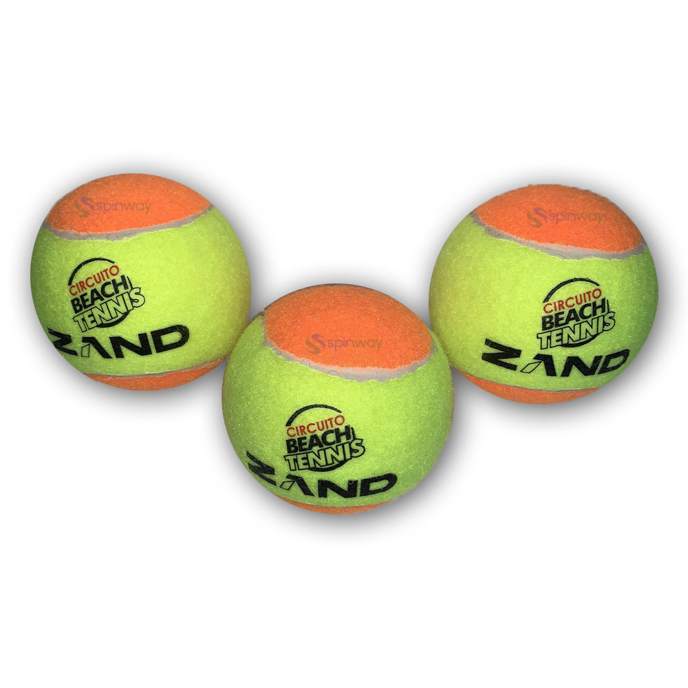 Bola De Beach Tennis Zand Pack Com 03 Bolas