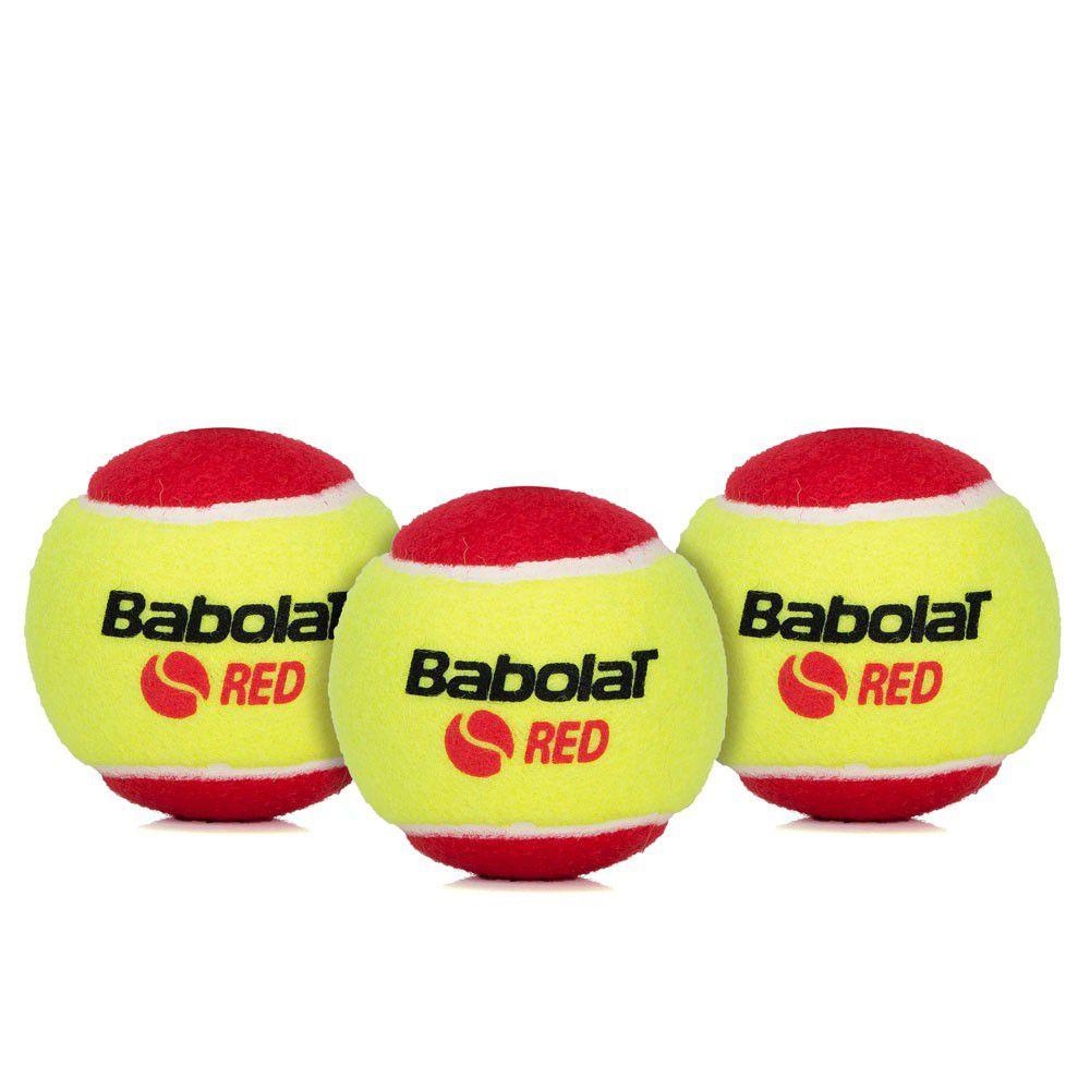 Bola de Tênis Babolat Felt X3 Vermelha Stage 3