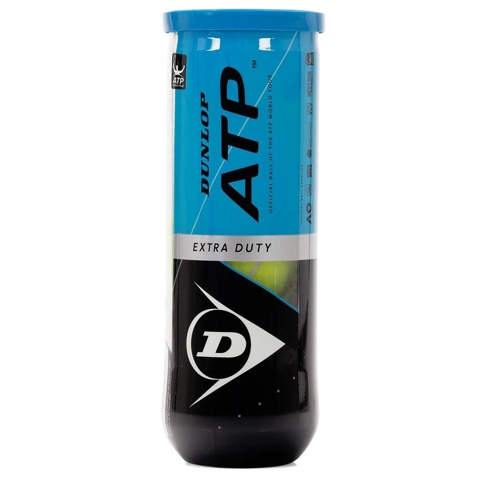 Bola De Tênis Dunlop ATP Tubo Com 03 Bolas