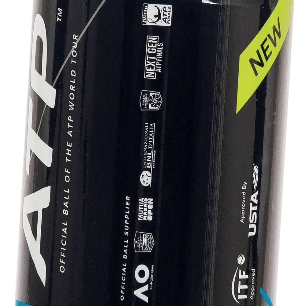 Bola De Tênis Dunlop Championship ATP Pack Com 06 Tubos