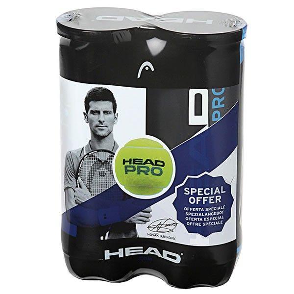 Bola de Tênis Head Pro Pack Com 02 Tubos