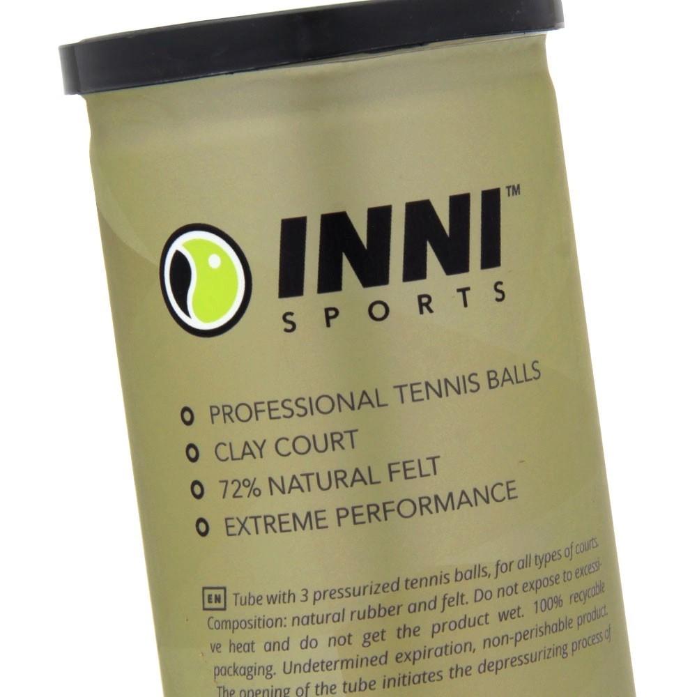 Bola de Tênis Inni Grand Clay Pack Com 06 Tubos