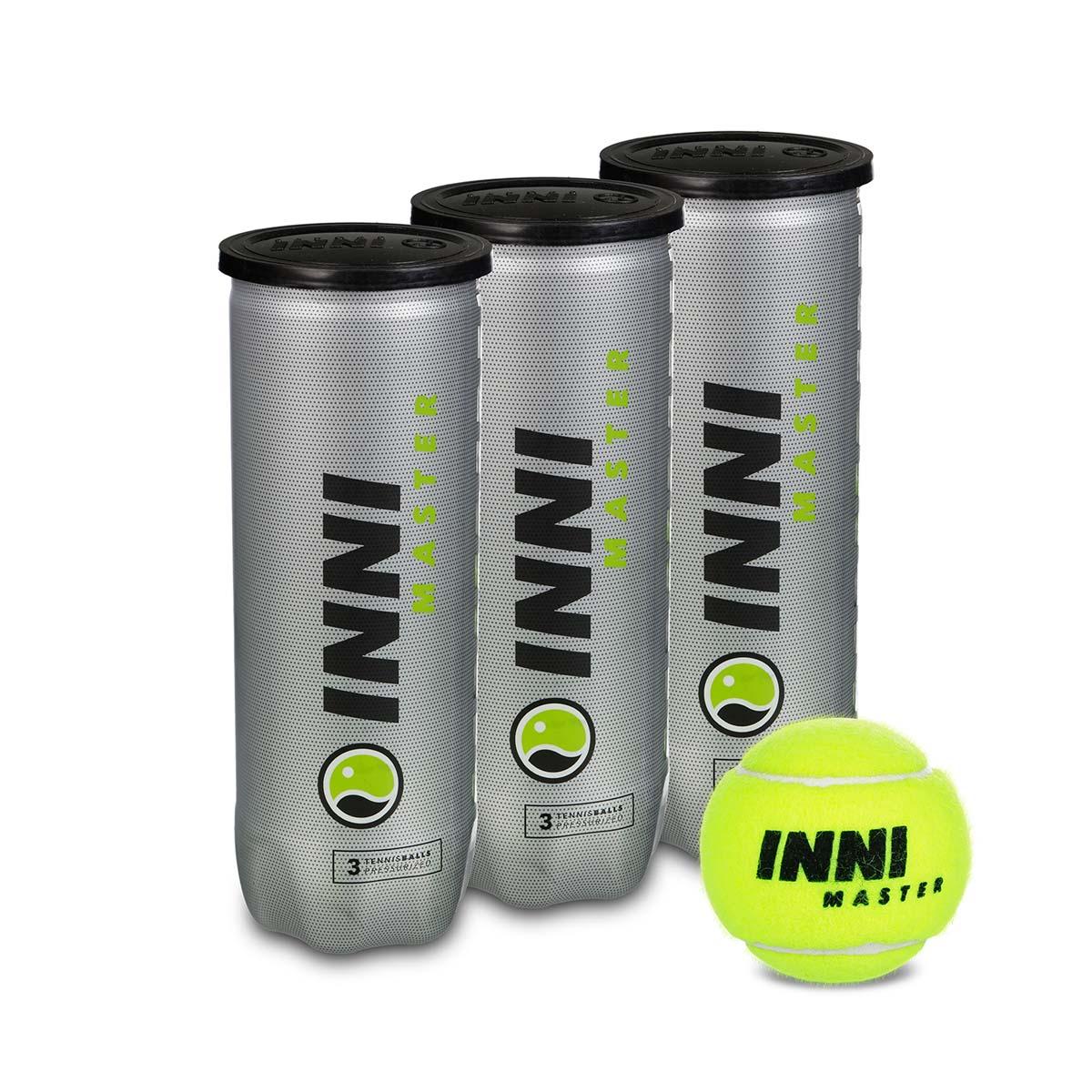 Bola de Tênis Inni Master - Pack Com 03 Tubos