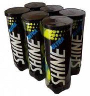 Bola de Tênis Ultra Shine Pack Com 06 Tubos