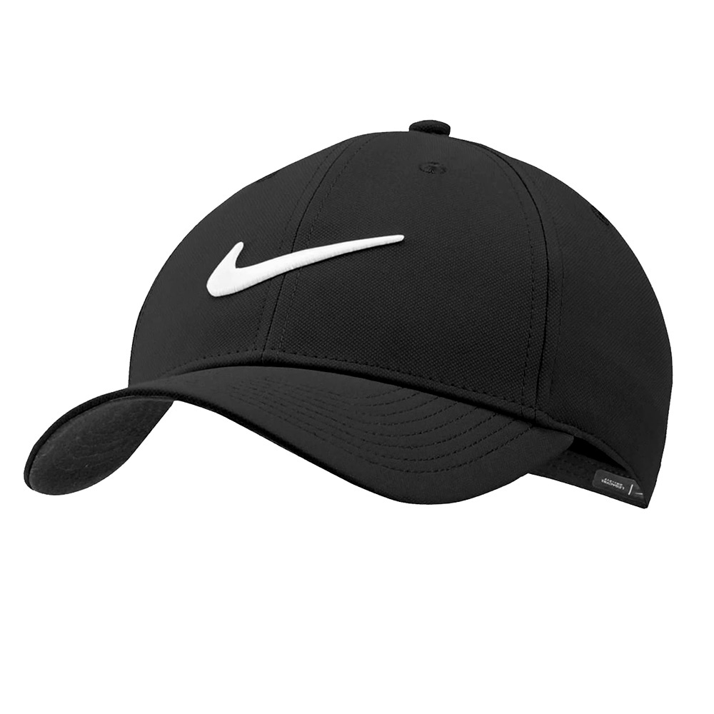 Boné Nike Dry L91 Sport Preto e Branco