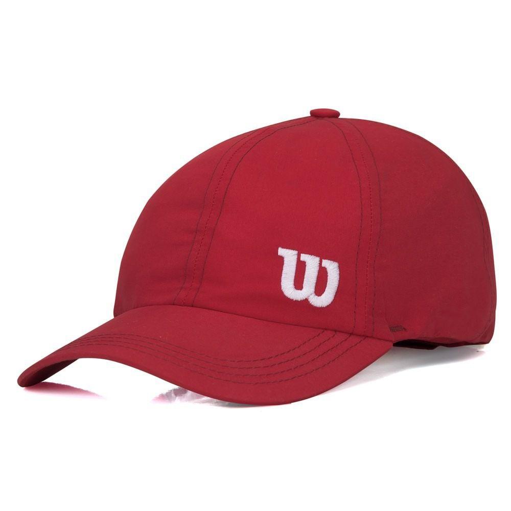 Boné Wilson Basic Logo W Vermelho