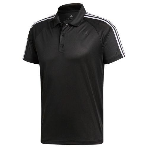 Camisa Adidas Polo D2M 3S Preta