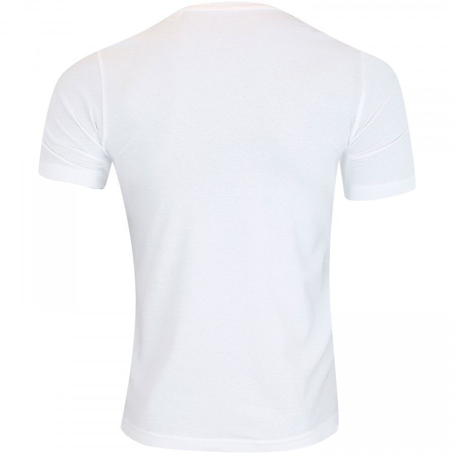 Camiseta Adidas D2M Tee 3S Branca