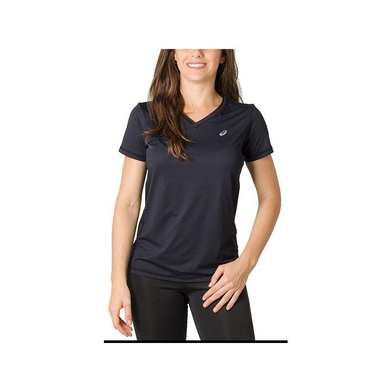 Camiseta Asics Core Pa Ss Tee Feminina Preta
