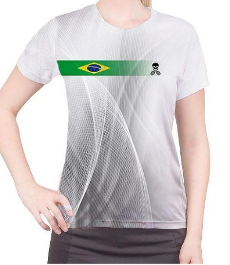 Camiseta Bones Original Tennis Feminina Brasil