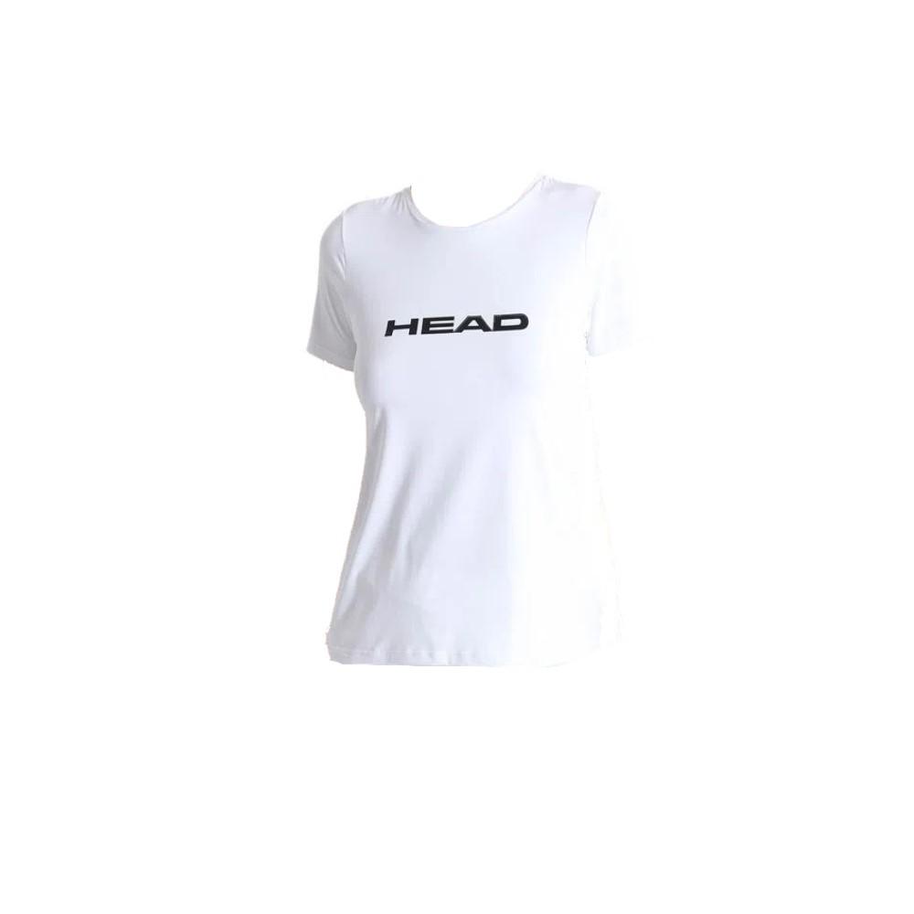 Camiseta Head Básica Branca - Feminina