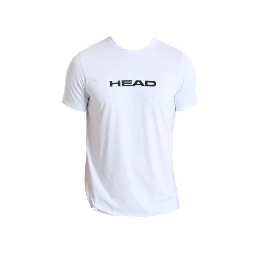 Camiseta Head Básica Branca - Masculino