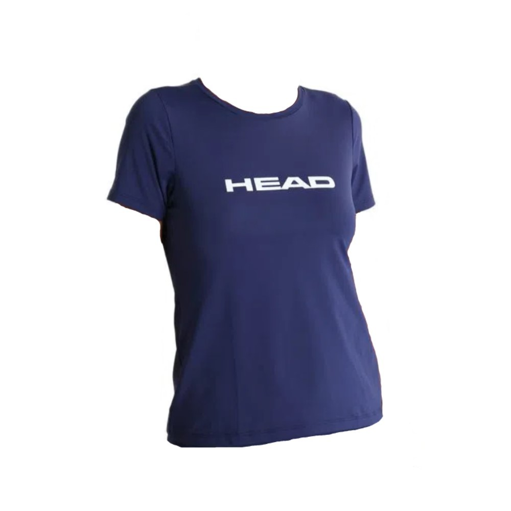 Camiseta Head Básica Marinho - Feminina