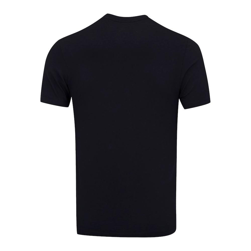Camiseta Nike Court Dri-Fit Rafa Vamos Preto e Branco - Masculino