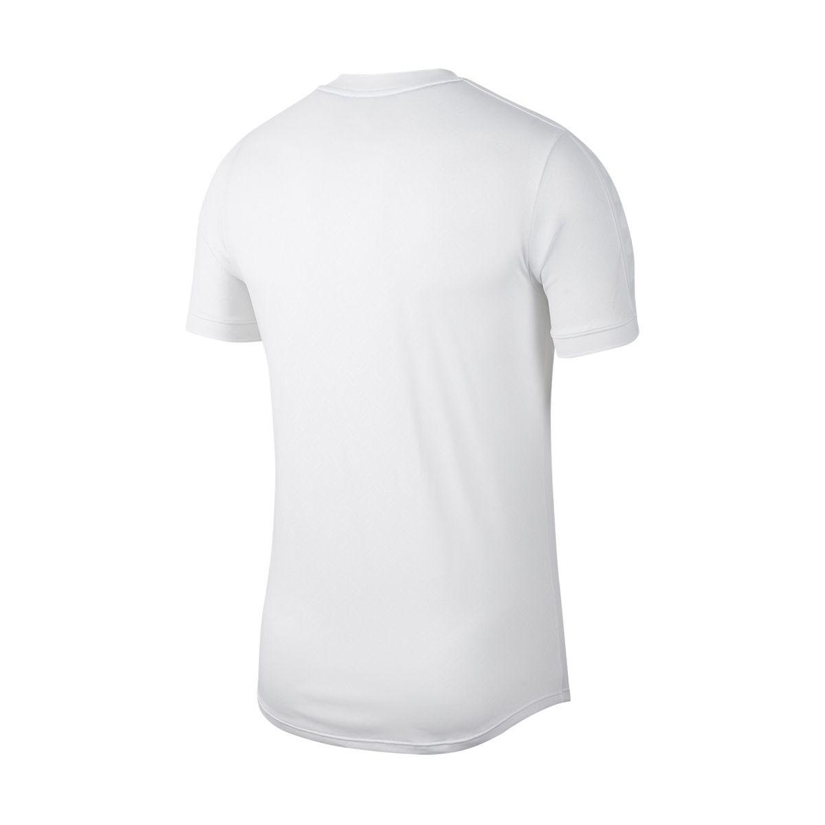Camiseta Nike Court Dry Aeroreact Rafa Branca e Rosa