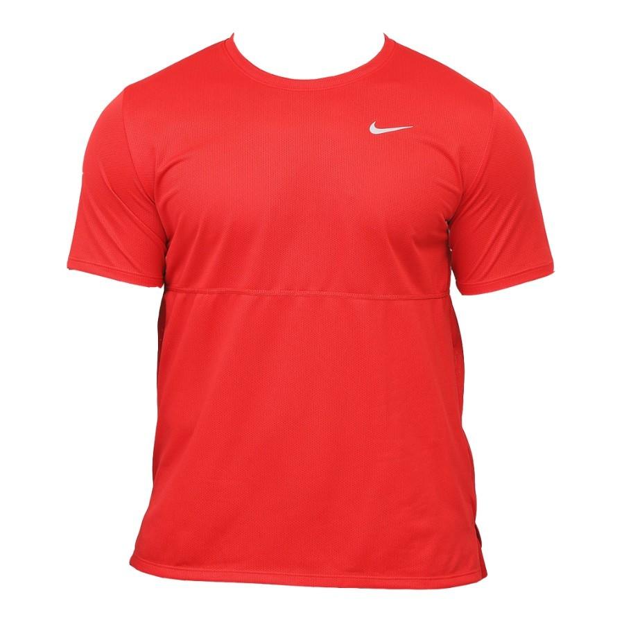 Camiseta Nike Dri Fit Breathe Run Top SS Vermelho - Masculino