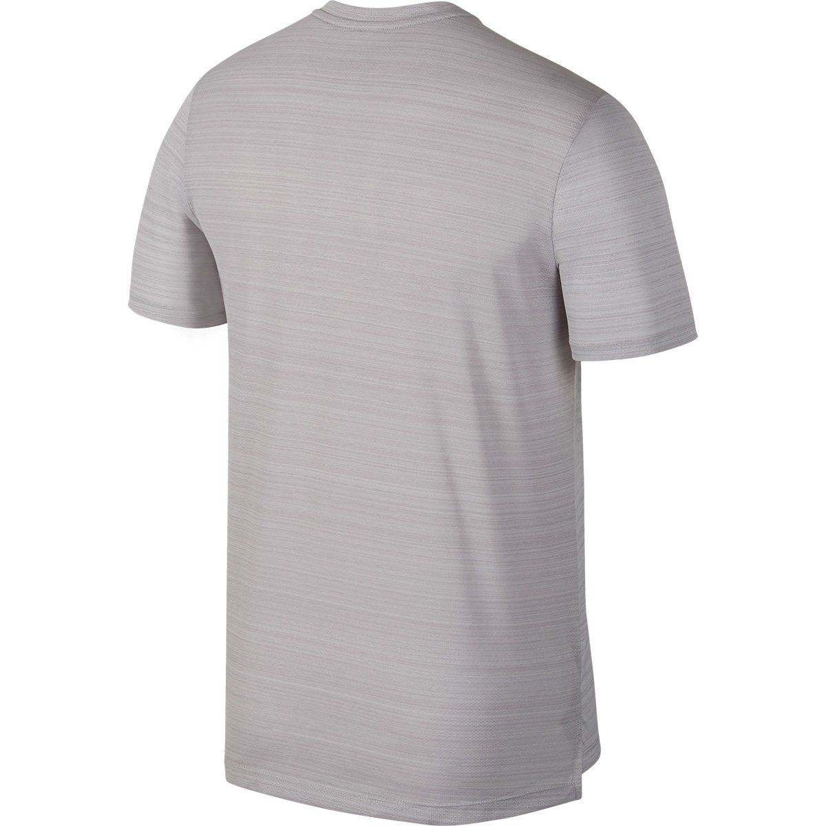 Camiseta Nike Dri Fit Miler Top SS Cinza