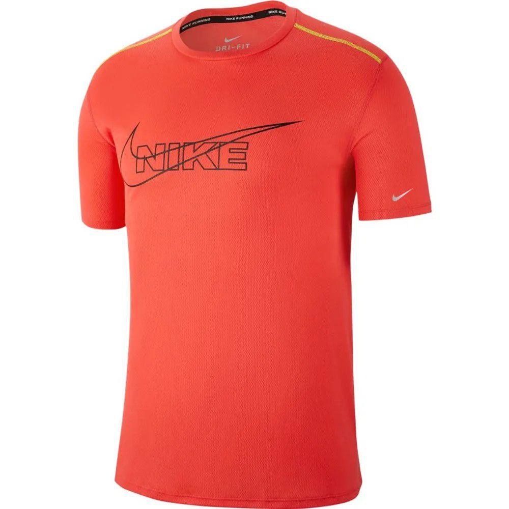 Camiseta Nike Dri Fit Top Brthe Laranja