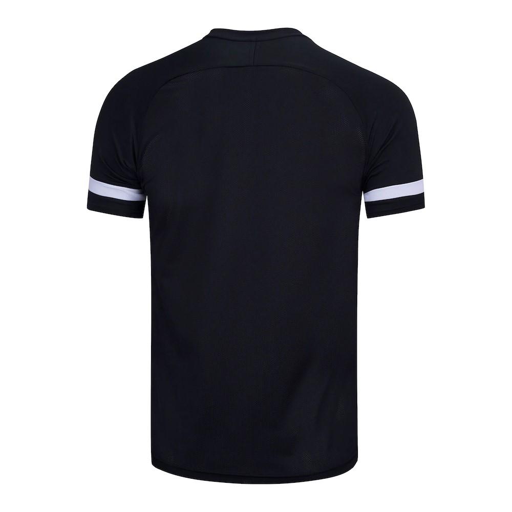 Camiseta Nike Dry Academy Top SS Preto e Branco - Masculino