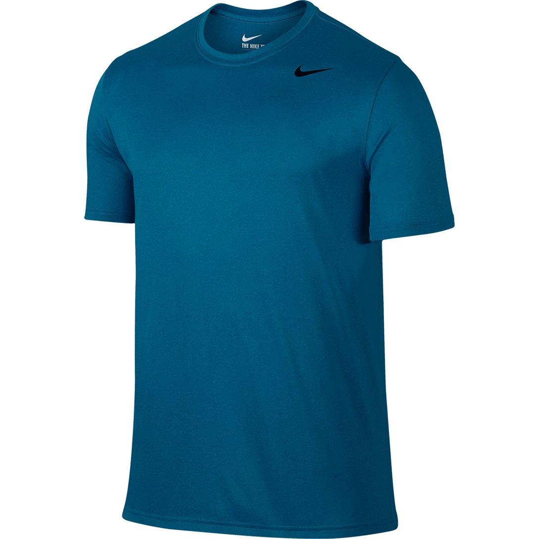 Camiseta Nike Dry Legend Azul Petróleo e Preto