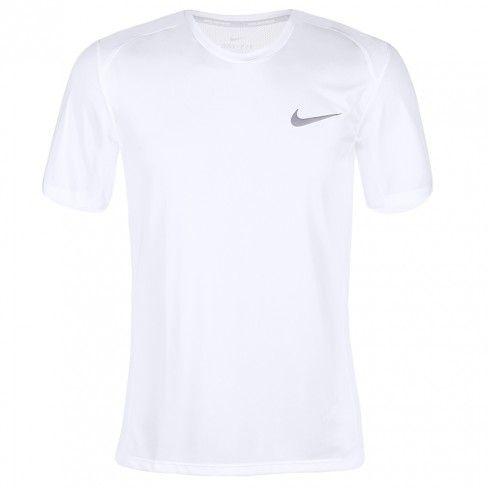 ba02910066 Camiseta Nike Dry Miller Cinza - Spinway Tennis e Beach Tennis ...