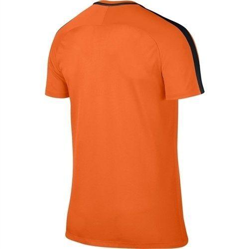 Camiseta Nike Dry Top SS Academy Laranja e Preto