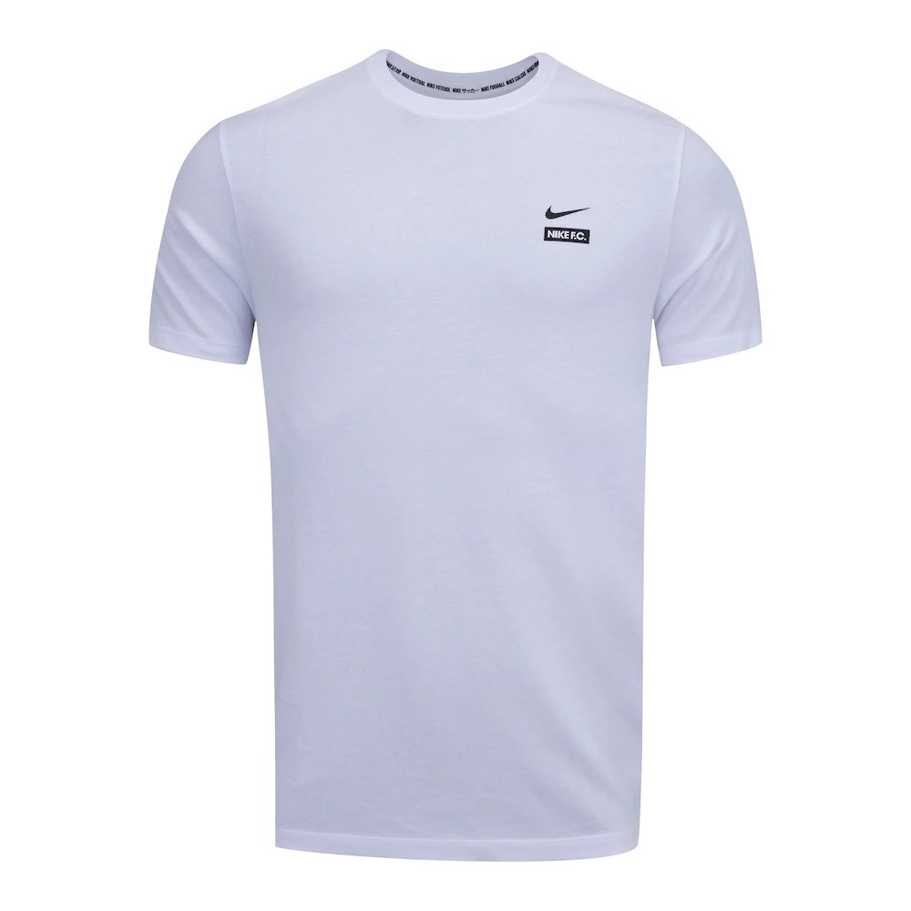 Camiseta Nike FC Tee Seasonal Graphic Branco - Masculino