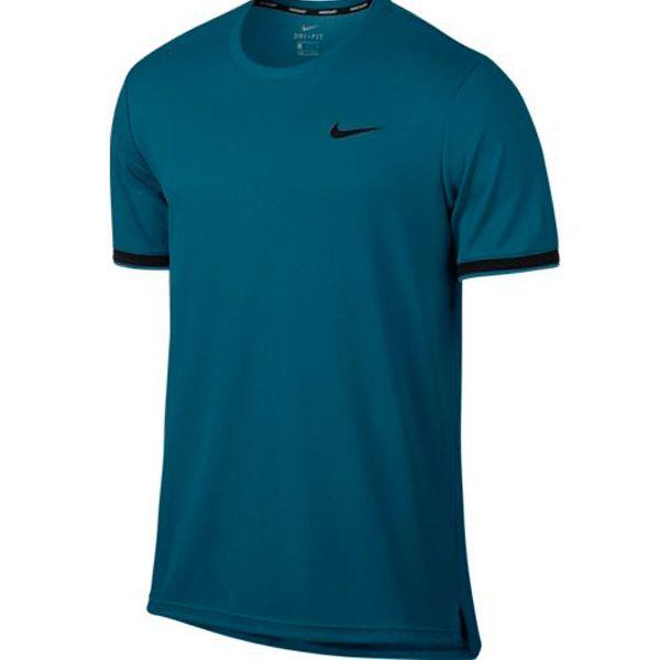 Camiseta Nike NKCT Dry Top Team Verde e Preto