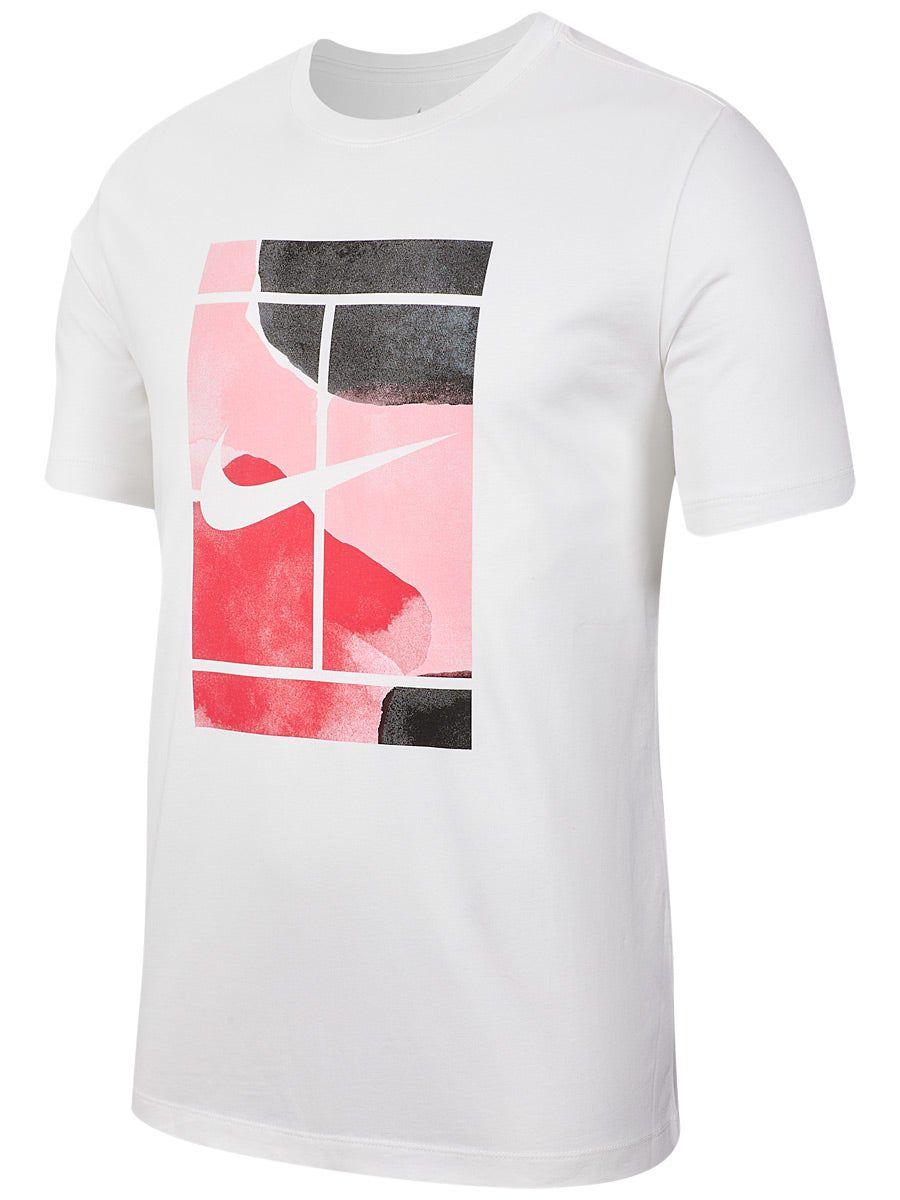 Camiseta Nike NKCT Tee Court SS Branca