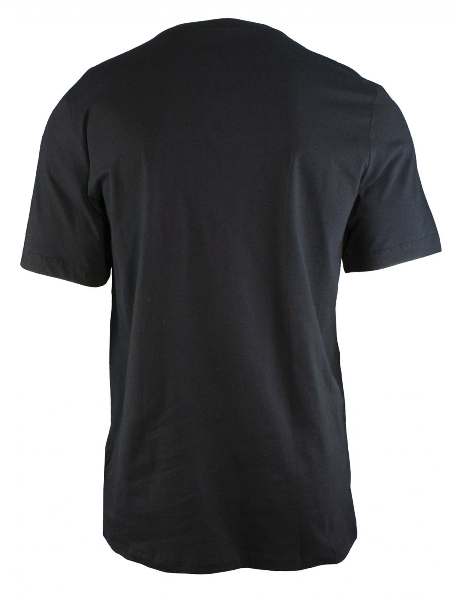 Camiseta Nike NSW Tee Just Do It Preto Vermelho e Branco - Masculino