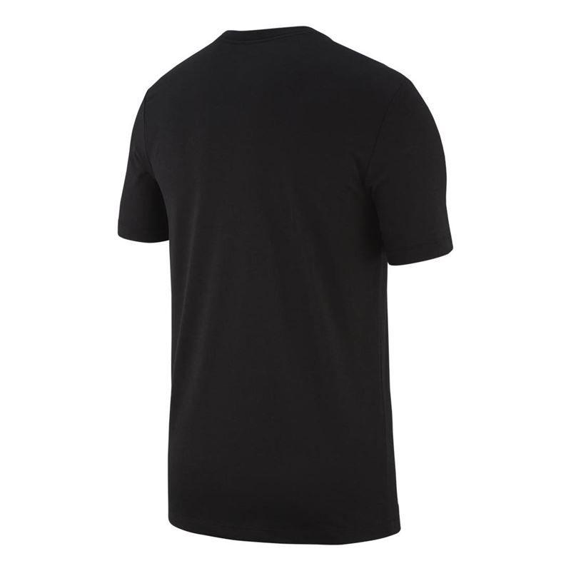 Camiseta Nike Rafa M NKCT Dry Tee Preta e Branca
