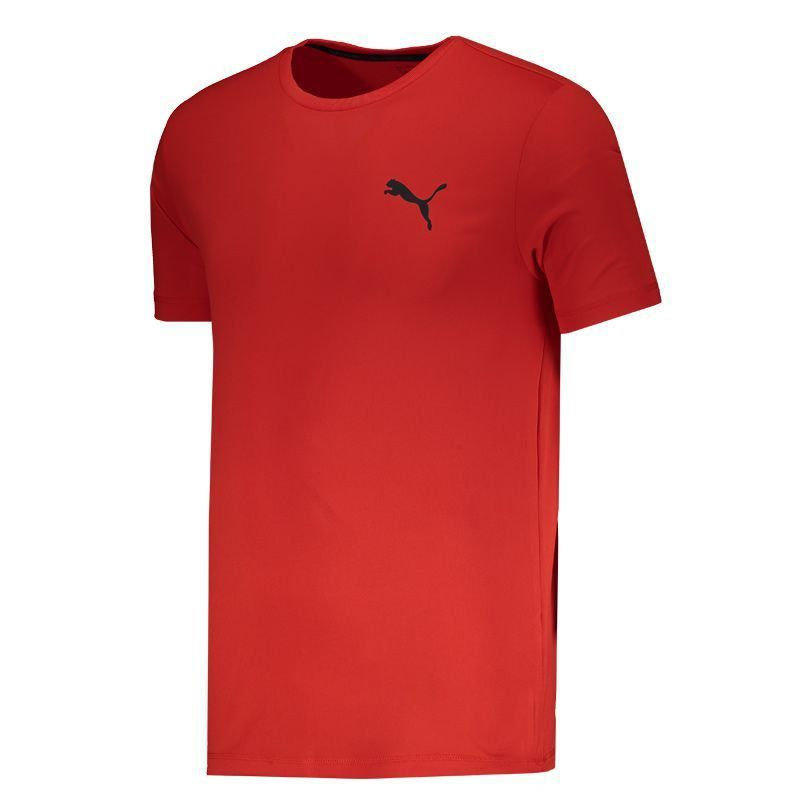 Camiseta Puma Active Tee Vermelha