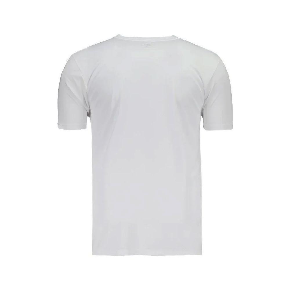 Camiseta Wilson Core Branco e Prata