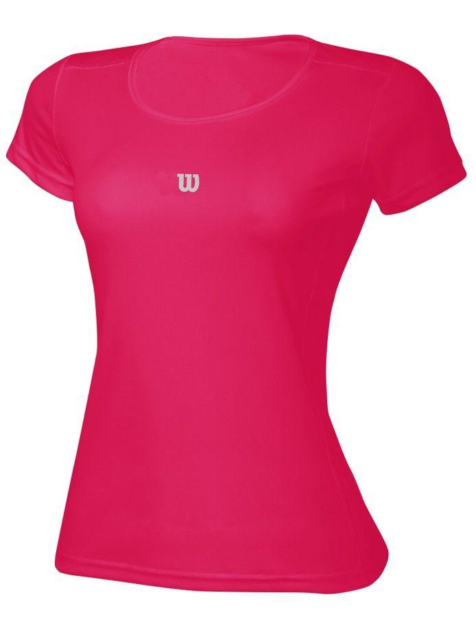 Camiseta Wilson Core SS Pink