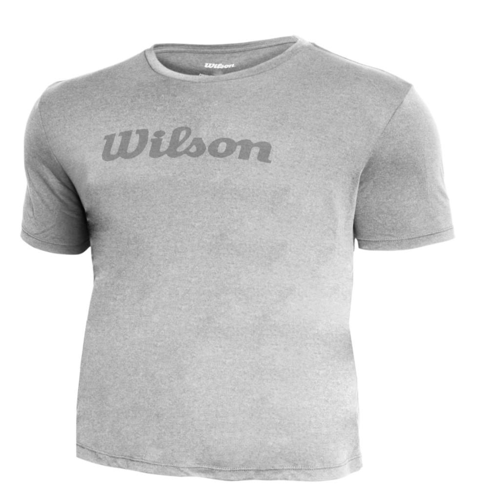 Camiseta Wilson II Cinza Mescla