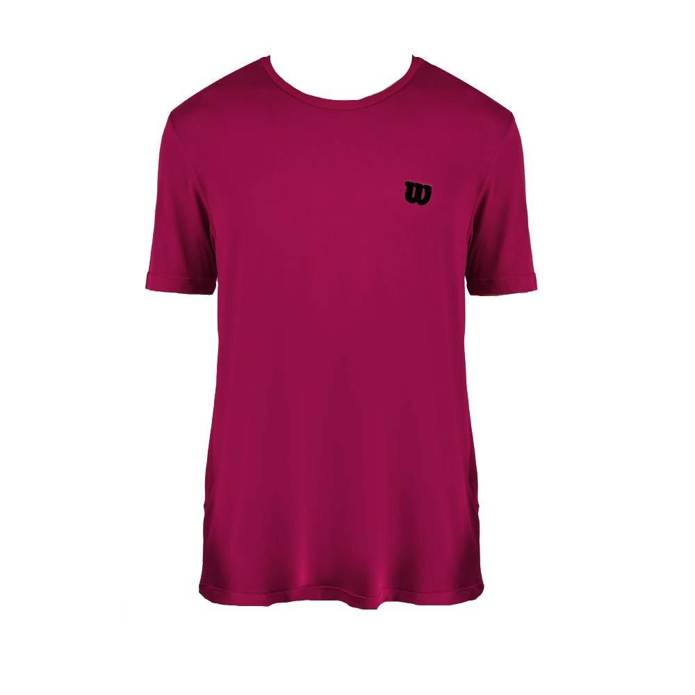Camiseta Wilson Trainning 10 Bordo - Masculino