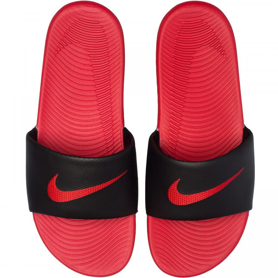 Chinelo Nike Kawa Slide Vermelho e Preto