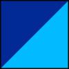 Marinho e Azul Claro