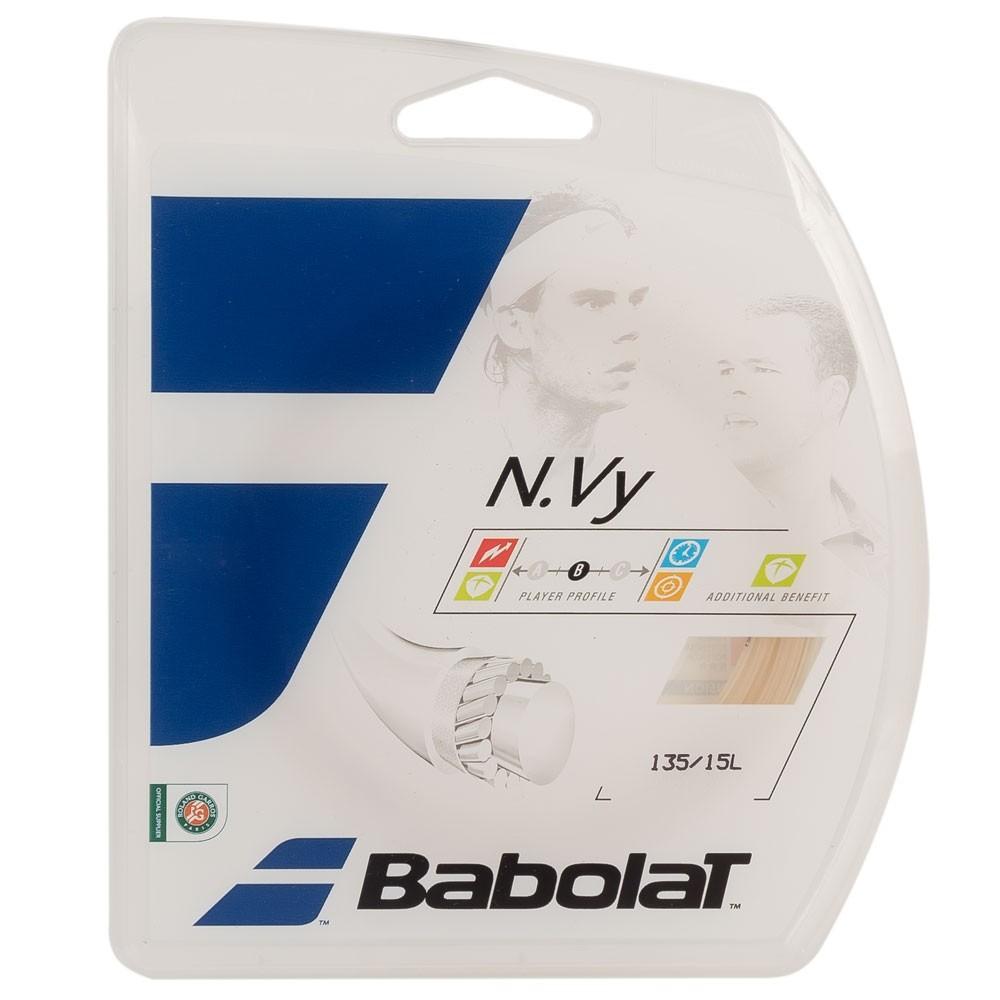 Corda Babolat N.Vy 15L 1.35mm Natural - Set Individual