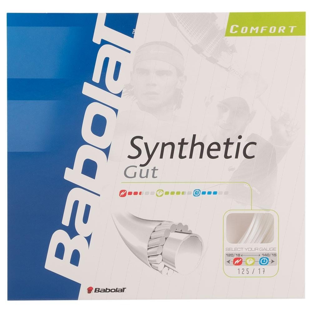 Corda Babolat Synthetic Gut 17L 1.25mm Branca - Set Individual