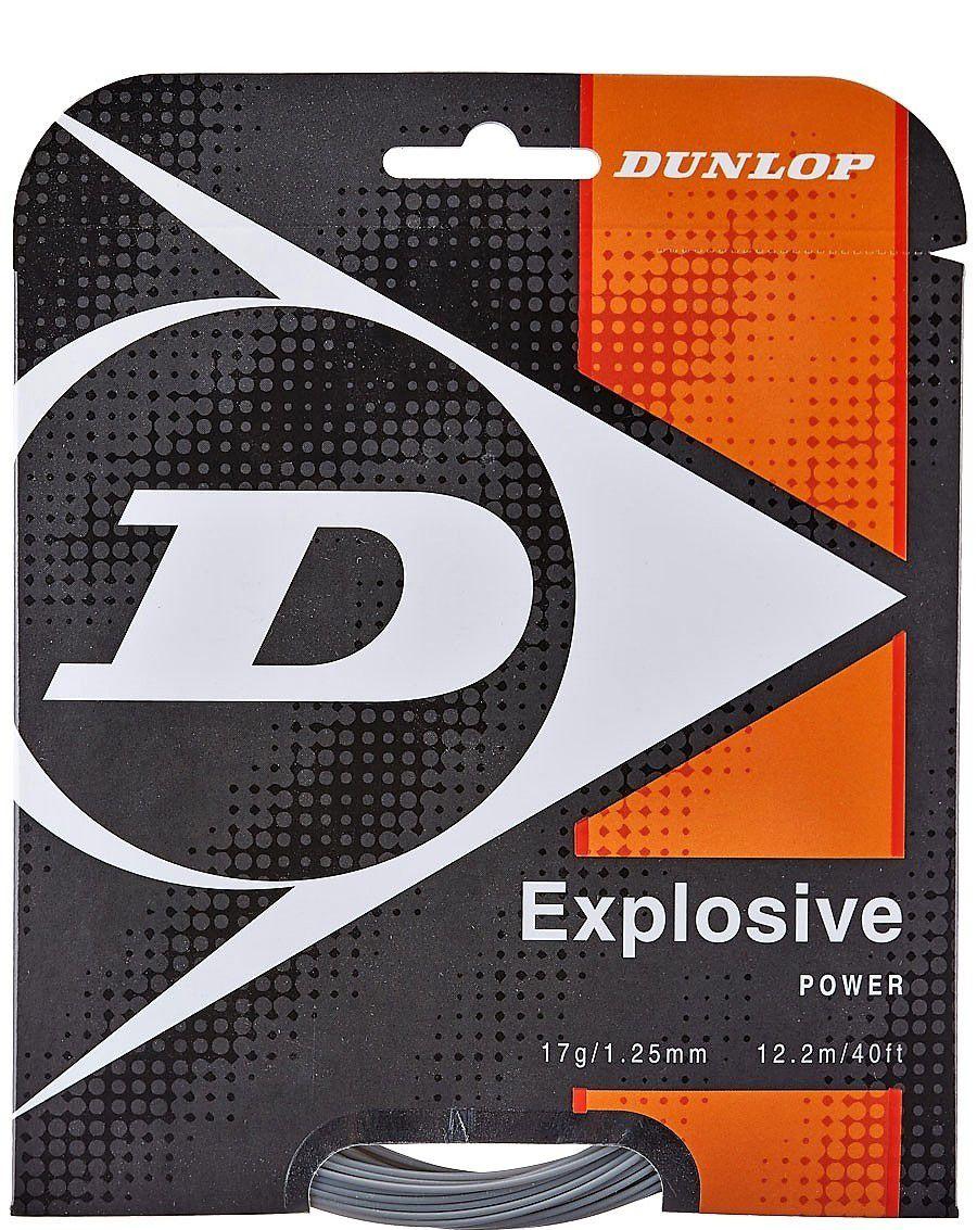 Corda Dunlop Explosive 1.30mm Set Individual Cinza