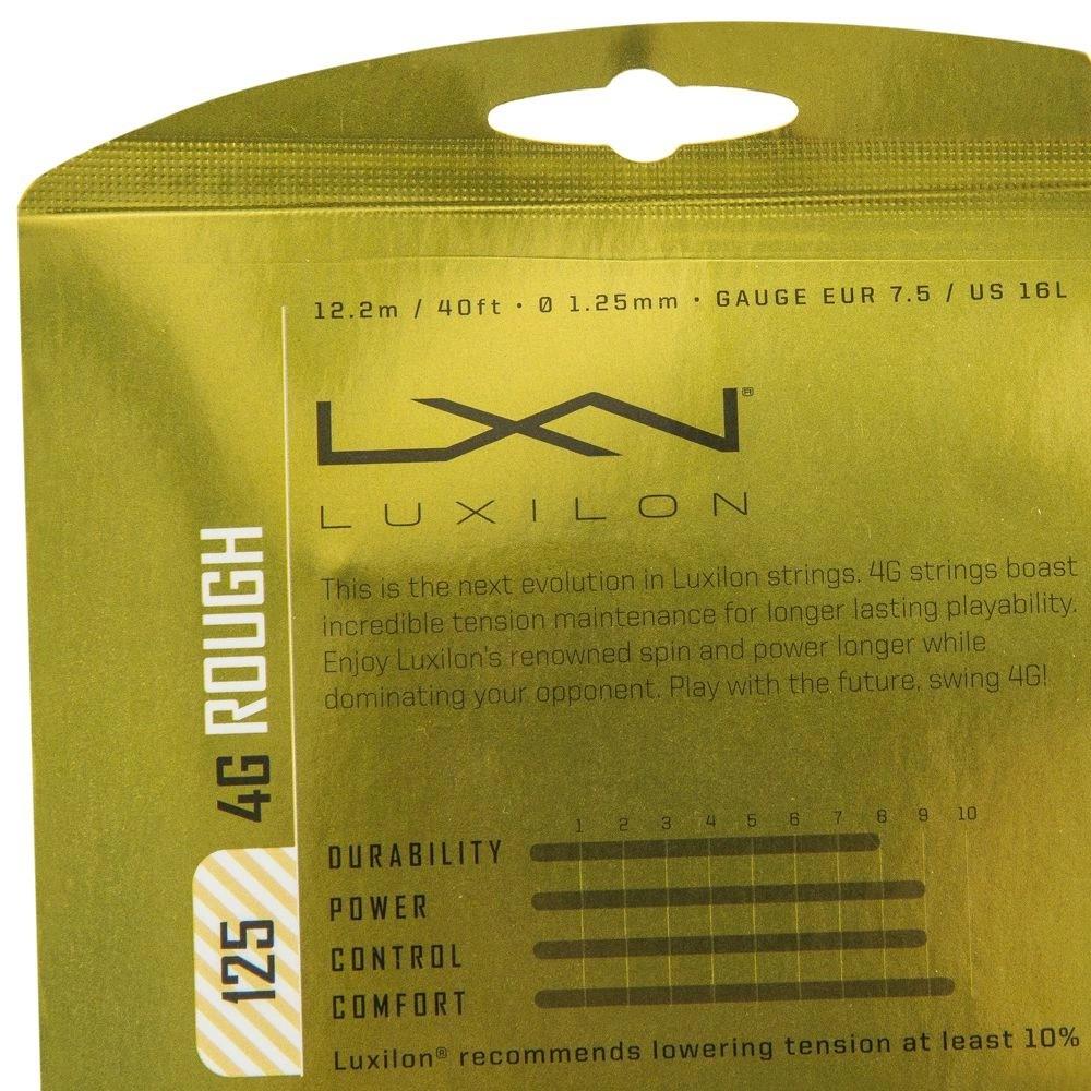 Corda Luxilon 4G Rough Set individual