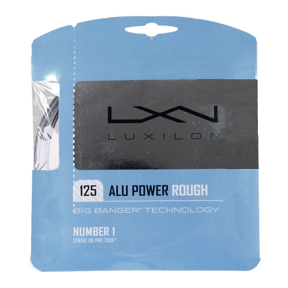 Corda Luxilon Alu Power 16L 1.25mm Rough Cinza - Set Individual