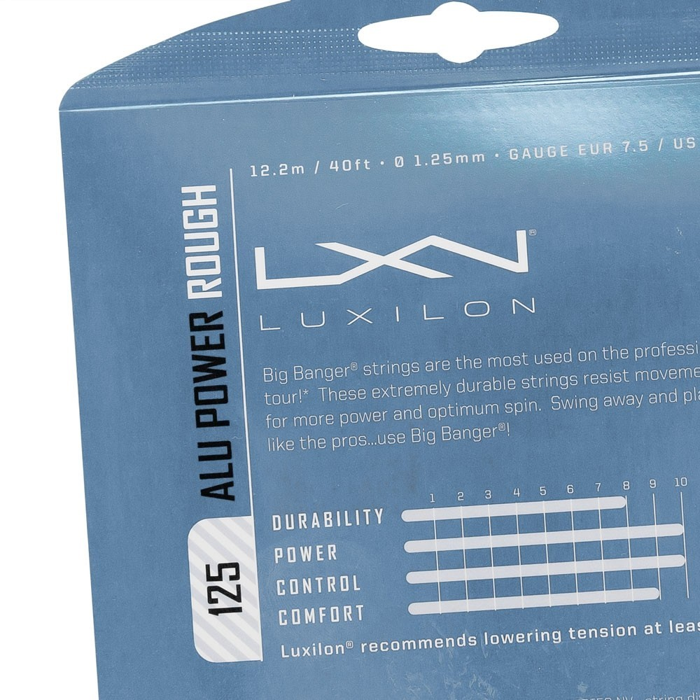Corda Luxilon Alu Power Rough Set Individual
